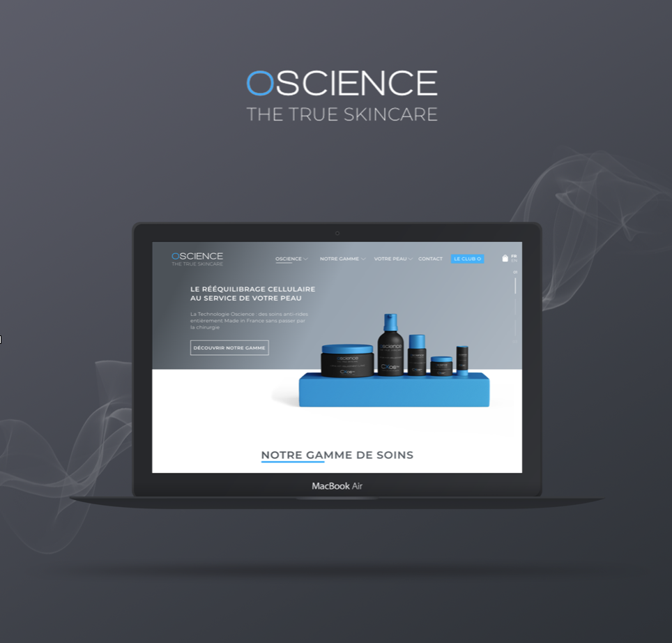 webdesign site oscience